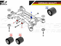 FOR BMW X5 E53 SUBFRAME CARRIER FRAME FRONT REAR DIFF DIFFERENTIAL BUSH BUSHES