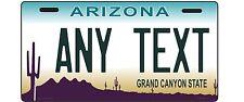ARIZONA State License Plate, Custom, Personalized, replica, MOTORCYCLE, 4 X 7,