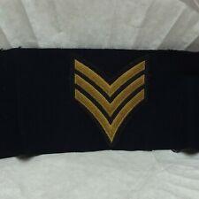 Vtg Army Trainee Active Sergeant Felt Armband Badge Patch T E Frye Ft Gordon