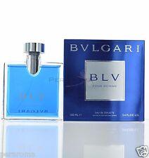 Blv Pour Homme by Bvlgari for Men Eau De Toilette 3.4 OZ  NEW