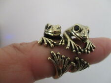 your frog prince ring  wrap round ring new colour antique gold