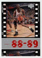 Michael Jordan 1998 Upper Deck Timeframe23  88-89 SCORING CROWN AND HONORS card