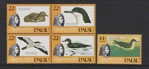 Palau- 1985, J Audubon, Oiseaux Ensemble - Bloc De 4 - MNH - Sg 68/72