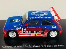 Renault 5 Maxi Turbo No.5 Superproduction 1987 (jean-louis Bousquet) 1 43 Spark