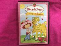 TARTA DE FRESA DVD AVENTURA PARA TARTA DE FRESA STRAWBERRY SHORTCAKE