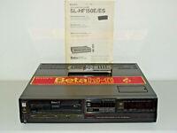 Sony SL-HF150 Betamax Recorder, gepflegt & generalüberholt, FB&BDA, 2J. Garantie