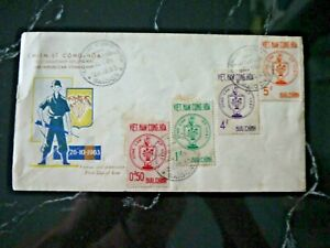 Vietnam - Saigon 1963 First Day Cover - The Republican Combatant