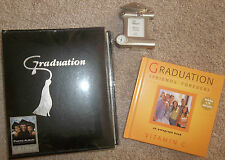 . Gibson GRADUATION Photo Album & PHOTO CLOCK & CD AUTOGRAPH BOOK