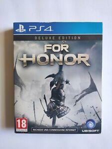 For Honor Deluxe Edition - Ps4 - Edizione Limitata Litografia + Colonna sonora