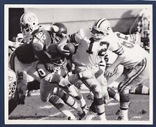 Green Bay Packers vs Minnesota Vikings 1970 original football photo Hadl & Page