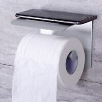 Porta Carta Igienica Accessorio Bagno in Alluminio Supporto Rotolo Cellulare