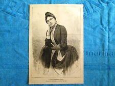 Sua Altezza Reale la Principessa Letizia nel 1888