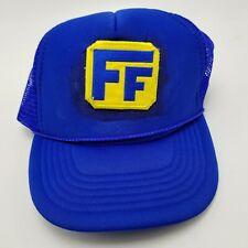 FF Hat Cap Blue Snapback Used Adult Mesh Bl4