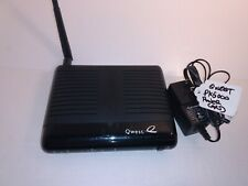 CenturyLink Qwest PK5000 ADSL2 Wireless G Wi-Fi Router Actiontec w/ Power Cord