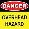 "Danger Sign 8"" x 8"""
