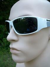 Biohazard white Sunglasses BZ4406 UV400 Davis A1 smoke lens