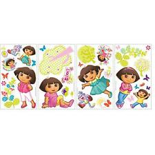 DORA the EXPLORER & BOOTS wall stickers 28 decals scrapbook Trees Butterfly