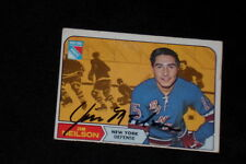 JIM NEILSON 1968-69 TOPPS SIGNED AUTOGRAPHED CARD #70 RANGERS
