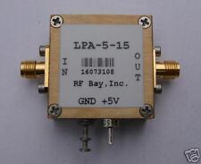 70-5500MHz Wideband RF Amplifier, LPA-5-15, New, SMA