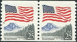 "#2280e ""FLAG OVER YOSEMITE"" PAIR BLACK TREES ERROR BP2560B"