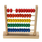 Wooden Bead Abacus Counting Number Maths Educational Preschool Kids Toy CF