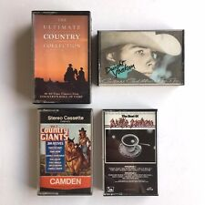 Country Music Cassettes - Ultimate Country, Dwight Yoakam, Willie Nelson, Giants