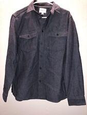 Goodfellow & Co- Men's Button Up Long Sleeve Shirt- Image Blue- Size Medium NWT