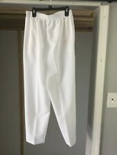 womens pants brand allison daley size 10p color white in good shape