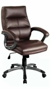 Brand New Executive Office Chair Soft Faux Leather Tilt Action