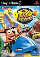 Used PS2 Crash Bandicoot: Bakuso! Nitro Kart  SONY PLAYSTATION JAPAN IMPORT