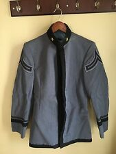 "West Point Cadet ""Dress Gray Grey"" jacket coat tunic junior cow sergeant star"
