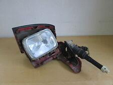 Headlight with Actuator LWR Sleeping eye left Toyota Celica T16 Bj. 85-89 red
