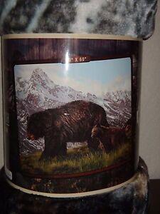 "Black BEARS Royal Plush Throw Soft Silky Fleece Blanket 50"" x 60"" (127 x 152 cm)"