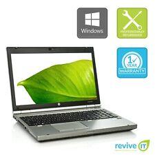 "Custom Build HP EliteBook 8570p 15.6"" Laptop Core i7 Min 2.90GHz Grade B v.WBA"
