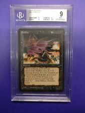Hellfire Legends BGS Beckett Graded 9 MINT Quad+ MTG Magic