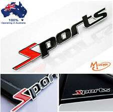 *SPORTS 3d metal badge emblems Decals Gifts racing car stickers 4x4,4WD -