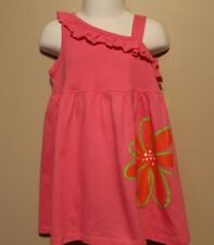 GIRLS 3T pink sleeveless dress with flower NWT Fisher-Price
