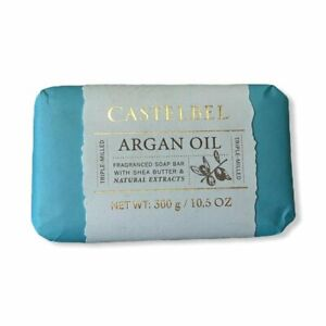 Castelbel Porto Argan Oil Fragranced Soap Bar Shea Butter Triple Milled 10.5 oz