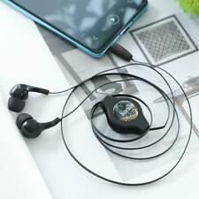 HOCO M68 Retractable Wired Earbuds 3.5mm In Ear Earphones NO Mic for Music