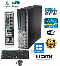 FAST Dell Optiplex SFF PC i5 2400 Quad 3.1GHz 8GB 1TB Windows 10 Pro 64 HDMI