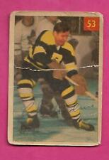 1954-55 PARKHURST # 53 BRUINS CAL GARDNER FAIR  CARD  (INV# C2178)