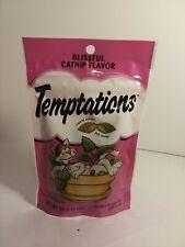 Whiskas Temptations Blissful Catnip Treats, 3 oz (Pack of 1) exp 4-21