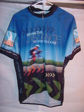 Cycling Jersey Going The Distance To End HIV & AIDS 2010 Ride - Size Mens Large