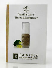 Eminence Vanilla Latte Tinted Moisturizer Spf 25 (Light) Sample 0.1 Ounce