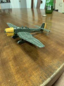 Vintage Dinky Toys Meccano Ltd 721 Junkers Ju 37b German War Plane