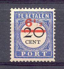 NEDERLAND # PORT 30 VARIETEIT= GEZAKTE - T - IN CENT * VW PR EX ( NIET IN NVPH)