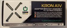 "Kron A1v Adapter Bracket Assembly for Non-vesa LCD Monitors 13"" - 27"""