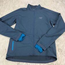 $149 Arc'Teryx Men's M Blue Accelero Jacket Light Weight Thumbholes