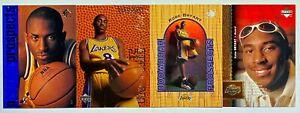 (4) Kobe Bryant 1996-97 Upper Deck SP Rookie Exclusives UD3 RC Card Lot LAKERS