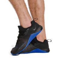 NIKE METCON FLYKNIT 3 Running Gym Weightlifting - UK Size 7 (EUR 41) Black Blue
